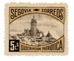 Stamps Europe - Spain -  sobretasa - Segovia