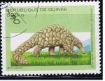 Sellos del Mundo : Africa : Guinea : Manis gigantea