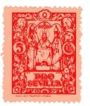 Stamps : Europe : Spain :  sobretasa - Sevilla
