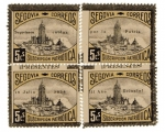 Stamps Spain -  sobretasa - Segovia