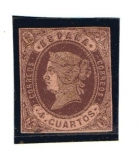 Stamps Europe - Spain -  Isabel II (1862)