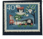 Stamps Germany -  cuentos - Blancanieves y los 7 enanitos   4/4