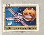 Sellos de Europa - Hungría -  Sonda espacial Mariner 4