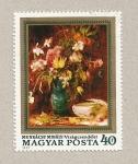 Sellos de Europa - Hungría -  Florero