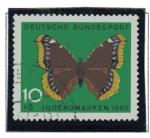 Stamps Germany -  Mariposas - Vulcain     2/4