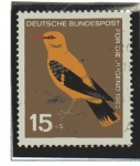 Stamps Germany -  Aves - Mirlo Dorado     2/4