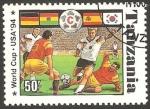 Sellos de Africa - Tanzania -  Mundial de fútbol USA 94