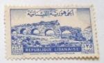 Stamps Africa - Libya -  ACUEDUCTO DE ZEBAIDE