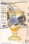 Stamps Spain -  artesanía española-Buen retiro s. xviii