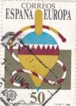 Stamps Spain -  Juegos infantiles-trompo