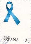 Stamps Spain -  lazo azul
