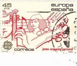 Stamps Spain -  joven orquesta nacional