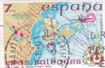Sellos de Europa - España -  Atlas de Diego -Homem 1563