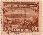 Sellos del Mundo : America : Ecuador : 1934 - 45 Paisaje Andino