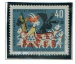 Stamps Germany -  Cuentos - El lobo y los 7 cabrititos    4/4