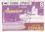 Stamps Spain -  España exporta-buques