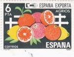 Stamps Spain -  España exporta-agrios