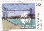 Sellos de Europa - España -  centenario escuela de ingenieros de Bilbao