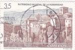 Sellos de Europa - España -  patrimonio cultural de la humanidad-ciudad fortificada de Cuenca