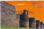 Sellos de Europa - España -  patrimonio cultural de la humanidad-muralla de Lugo