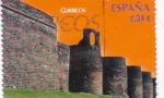 Sellos del Mundo : Europa : España :  patrimonio cultural de la humanidad-muralla de Lugo