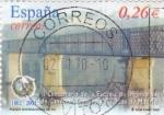 Stamps Spain -  puente internacional de Tui