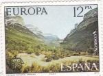Stamps Spain -  parque nacional de Ordesa