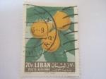 Stamps Asia - Lebanon -  poste aerienne