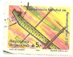 Stamps of the world : Argentina :  Campeonato mundial de Aeromodelismo
