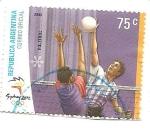 Stamps : America : Argentina :  Voleibol