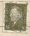 Stamps Germany -  Presidente Ebert