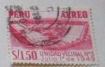 Stamps : America : Peru :  UNIDAD VECINAL Nº 3 JULIO 1 DE 1949