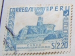 Stamps : America : Peru :   CUSCO OBSERVATORIO SOLAR DE LOS INCAS