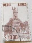 Stamps : America : Peru :  MONUMENTO AL INCA MANCO CAPAC FUNDADOR DEL IMPERIO ABRIL 4 DE 1926