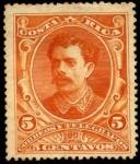 Stamps Costa Rica -  Cuadros variados, presidente B. Soto.   UPU