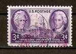 Stamps United States -  150 Aniversario del Estado de Tennesee dentro de La Union.