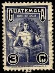 Sellos de America - Guatemala -  Dìa de los trabajadores y código del trabajo.