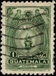 Sellos del Mundo : America : Guatemala : Segundo aniversario de la revolución de 1944.