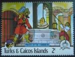 Sellos del Mundo : America : Islas_Turcas_y_Caicos :  Disney Piratas del Caribe (2)