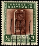 Sellos de America - Guatemala -  Calendario Maya, Museo Arqueológico.