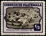 Sellos del Mundo : America : Guatemala : Escuela tipo federación.