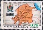 Stamps America - Venezuela -  CARTAS GEOGRÁFICAS. YARACUY. Y&T Nº 832