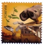 Stamps : America : United_States :  Forever - Wall.E