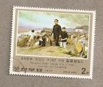 Sellos de Asia - Corea del norte -  Actividades revolucionarias de Kim il Sung