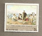 Stamps Asia - North Korea -  Actividades revolucionarias de Kim il Sung