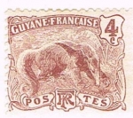 Stamps French Guiana -