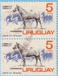 Stamps : America : Uruguay :  Caballo Criollo
