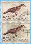 Stamps : America : Uruguay :  Hornero