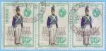 Stamps : America : Uruguay :  Uniforme de 1830
