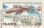 Stamps France -  Premiere Liasion postale aerienne